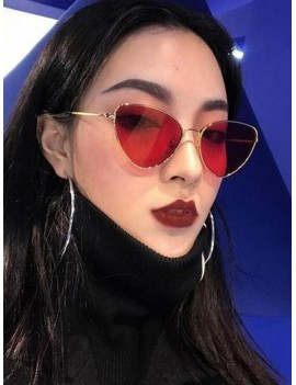 Red Hot Sale Shades Cat eye Uv400 Lady Sunglasses With Sunglasses Case