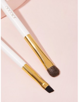 2pcs Duo Brow Brush