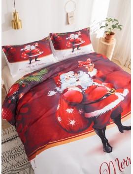 Santa Claus Print Sheet Set
