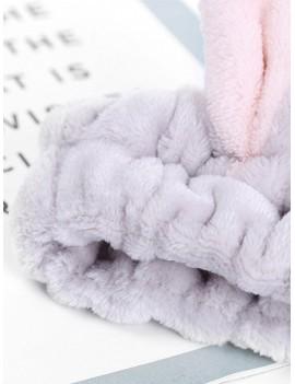 Bunny Ear Bath Headband