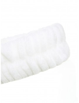 Pom Pom Detail Bath Headband