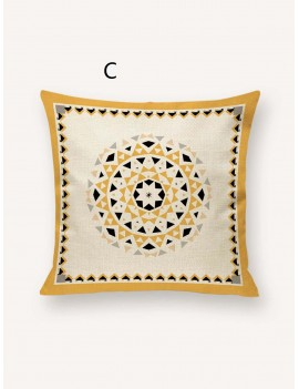 1pc Bohemian Geometric Pattern Cushion Cover