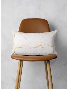 Mountain & Sunrise Print Lumbar Pillowcase