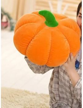Pumpkin Shaped Decorative Pillow