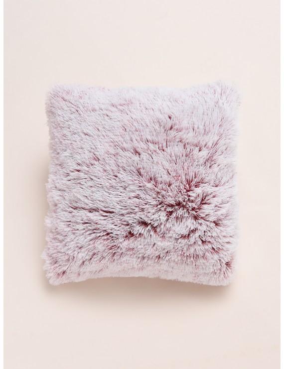 Solid Plush Cushion Cover