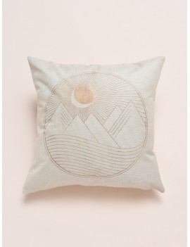 Simple Sunrise Print Cushion Cover