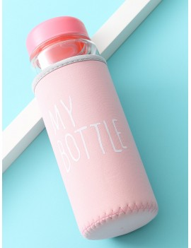Clear Water Bottle 500ML With Bag