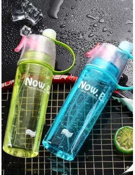 Spray Sport Water Bottle 1pc