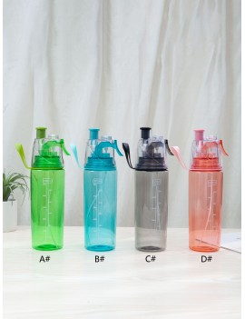 1pc Sport Spray Water Bottle