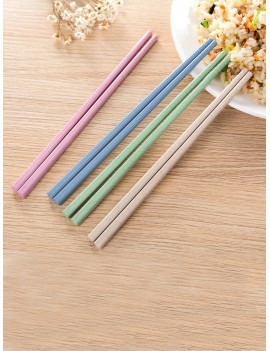 Solid Chopstick Set 4pairs