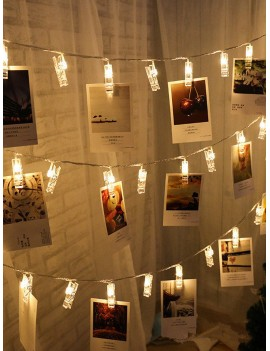 10pcs Clip Bulb String Light